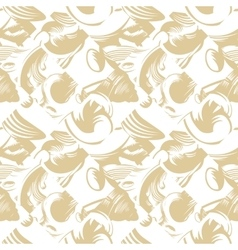 seamless pattern with art ornament for vector image vector image