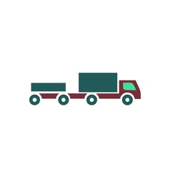 Truck Icon vector image