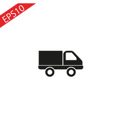 trucktruck icontruck icon transport vector image