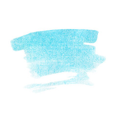 light blue turquoise watercolour vector image vector image