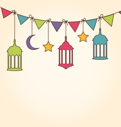 Background for Ramadan Kareem vector image