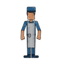 Butcher avatar full body vector