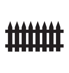 fence icon design vector image