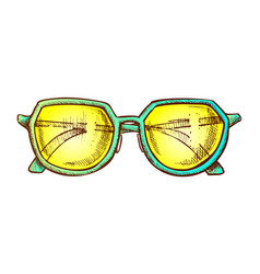 glasses for reading accessory color vector image