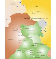 Kashmir vector image vector image