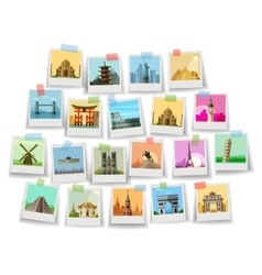 travel historic architecture world vector image