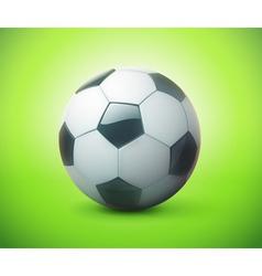 football or soccer ball vector image vector image