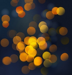 Shiny Bokeh light background eps10 vector image