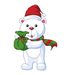 christmas character vector image vector image