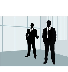 businessmen vector image