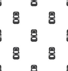 Car top seamless pattern vector
