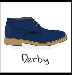 derby vector image