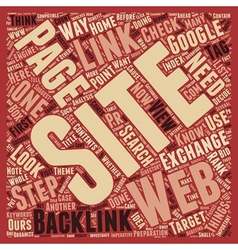 How To Make Your Backlinks Count I text background vector