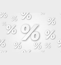 image percent sign percent seamless vector image