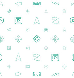 Next icons pattern seamless white background vector