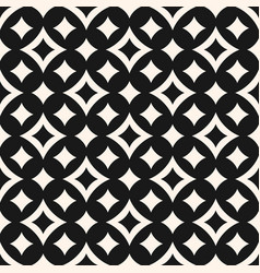 Seamless pattern with big and small curved lines vector