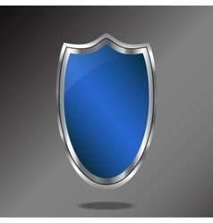 Shield logo icon design template elements vector image