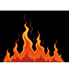 Stylized fire vector