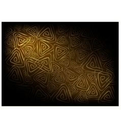 Brown Vintage Wallpaper with Triangle Spiral vector image vector image