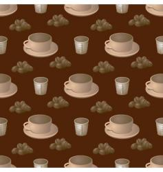 coffee step vector image