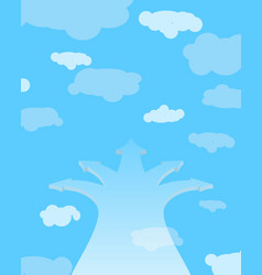 divarication to heaven freedom of choice vector image