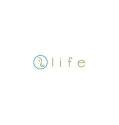 Elephant line logo design vector