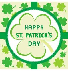 Happy Saint Patrick s Day6 vector image