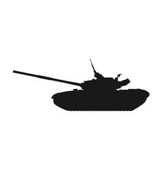 heavy tank vector image