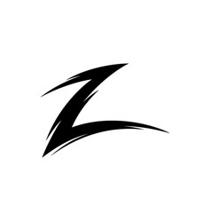 letter-z vector image