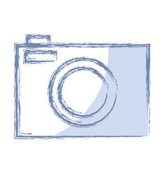 Photographi camera icon vector