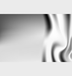 silver textile drapery horizontal background with vector image