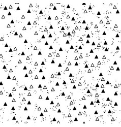 triangles and dots vector image