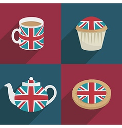 Uk decorations vector