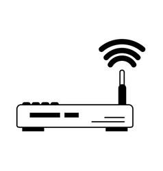 Wifi router icon image vector
