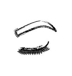 Woman eye icon vector
