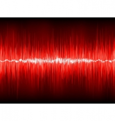 Abstract waveform vector background vector