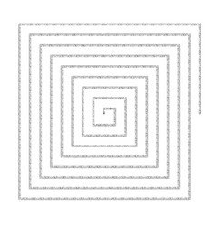 Archimed spiral square reference vector
