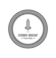 Astronaut label vector
