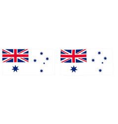 Commonwealth australia naval flag variant vector
