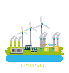 Environment energy ecology green sustainable vector