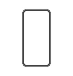 mobile phone mock up vector image