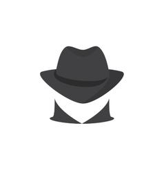 Picture of a secret agent spy logo vector