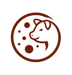 pork trade sign vector image