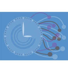 watch texture concept vector image