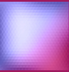 abstract triangle background vector image