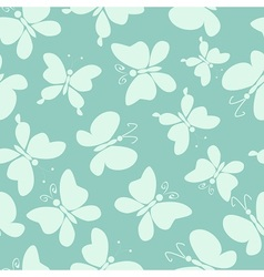 Butterfly fly high vector image