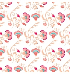 Seamless oriental style pattern vector