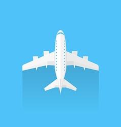 Airplane trendy icon vector image