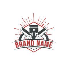 automotive performance badges logo vector image