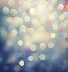 Bokeh light Vintage background eps10 vector image